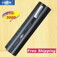HSW 6Cells Laptop Battery For HP Mini 210-3000 1104 2103 2104 3115m DM1-4000 HSTNN-DB3B 646757-001 HSTNN-LB3B