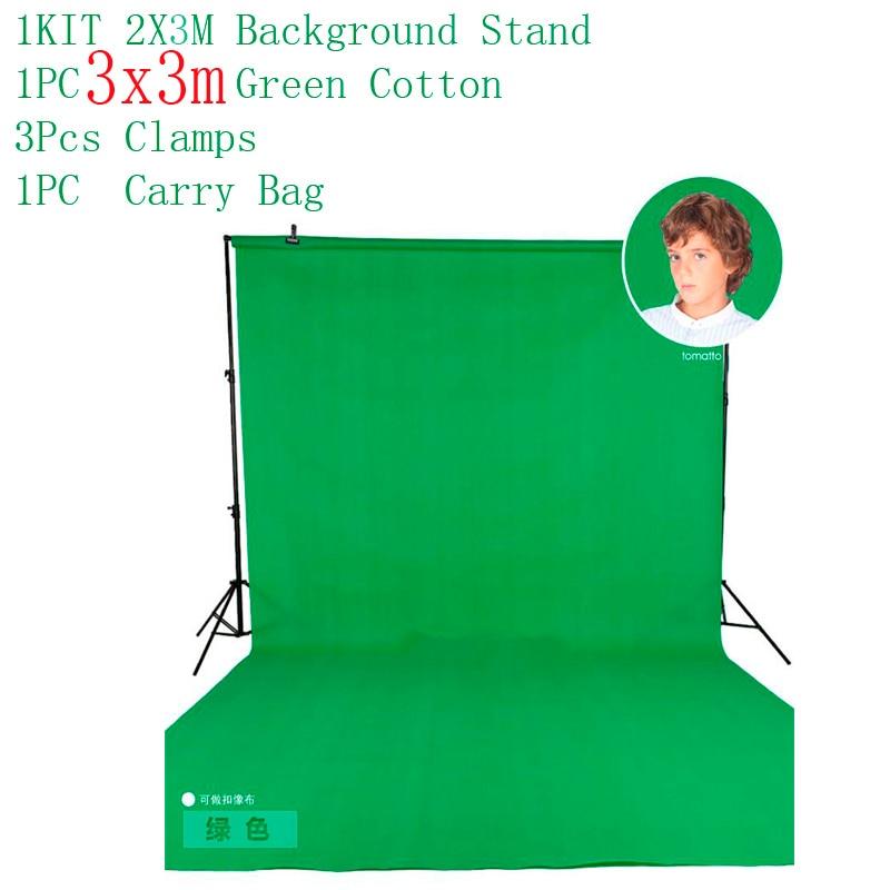 DHL 10Ft X 6.5Ft BACKGROUND STAND 3M X 2M Adjustable Muslin Background Backdrop BLACK 3METER GREEN WHITE CHORME KEY dhl free 10ft x 6 5ft background holder 3m x 2m adjustable muslin background backdrop support system stand kit carrying bag