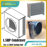 1 5HP Fin Tube Heat Exchanger Suitable For Small Cold Storage Devices Such As Mobile Cooler