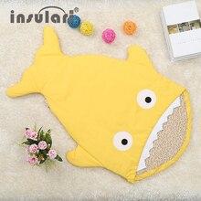 New Arrival Cute Shark Style Baby Sleep Bag Winer Baby Sleep Sack Warm Baby Blanket Warm Swaddle
