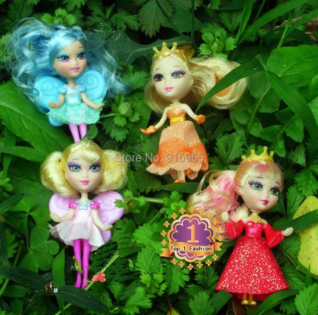 Free shipping 2piece/lset mini Doll for girl/birthday gift play toys cute mini doll accessories for barbie doll