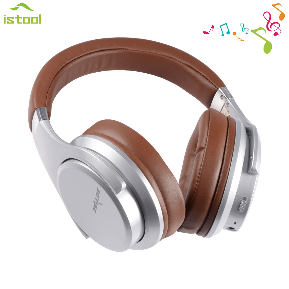 ZEALOT B21 Wireless Bluetooth Headset for iphone Touch Control On-Ear Stereo Earphone gamer over-ear headphone for xiaomi AUX boas over ear bluetooth headphone wireless rotary stereo comfortable handfree headset aux earphone with mic for iphone xiaomi pc