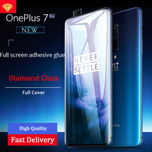 9H Full Cover Diamond Toughened Glass For Oneplus 7 7 Pro Screen Protector For One Plus 7 1+7 Pro Full Bod Glass Protective Film