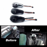 LED Gear Shift Knob Automatic Updated Look For BMW 6 Series 2004 2006 E63 Convertible Pre LCI Facelifted LHD