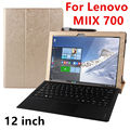 Case For Lenovo Ideapad Miix 700 Protective Smart cover Faux Leather Tablet For MIIX4 12 inch PU Protector Sleeve Case Covers
