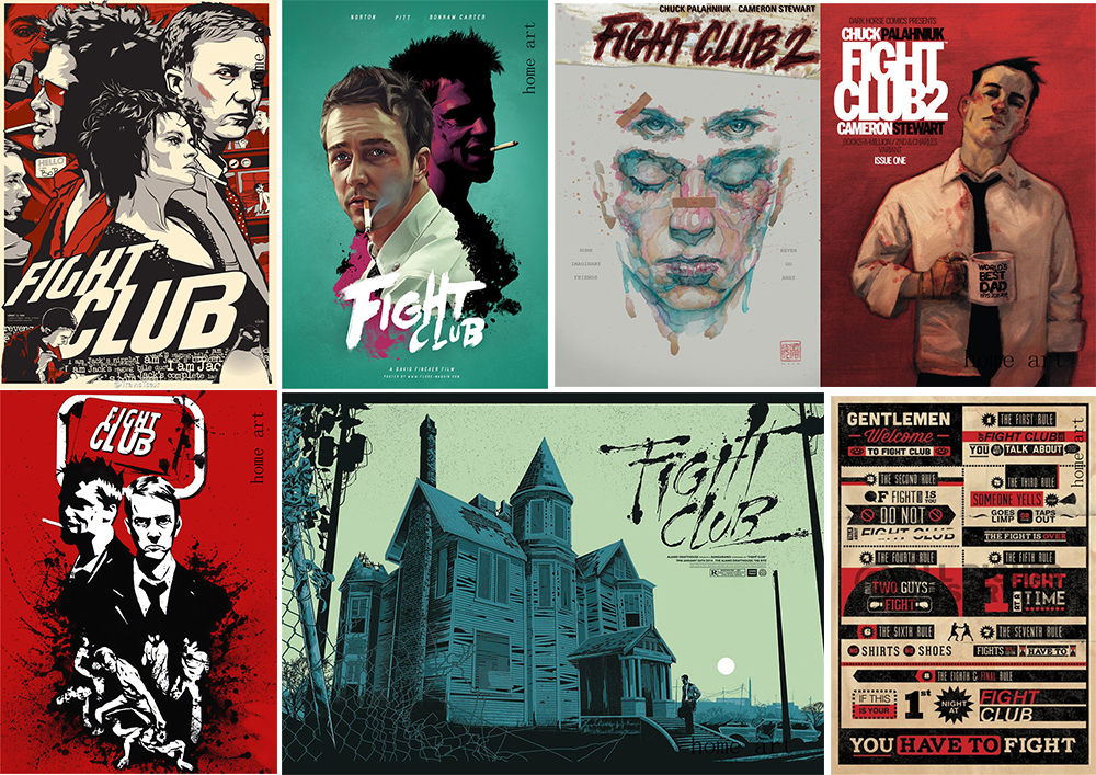 Fight Club Classic Large Movie Poster Print