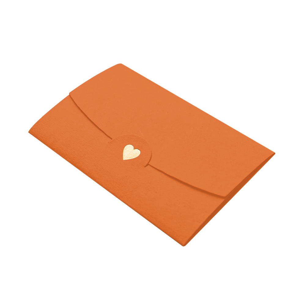 20pcs Pocket Mini Envelopes Loving Heart Multifunction Gift Card Office Classical DIY Wedding Paper Notes Craft Business