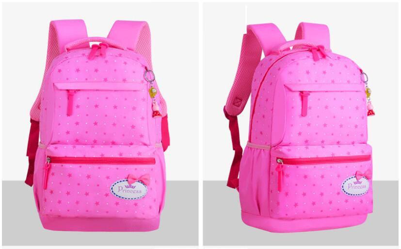 Capacidade Dot Estrela Impressão Escola Mochila Bonito mochila saco de luz