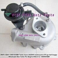 RHF3 VZ49 13900-83GB0 1390083GB0 13900 83GB0 Turbo Turbocharger Para Isuzu Para SUZUKI motocicleta ATV go kart buggy K6A 0.7L