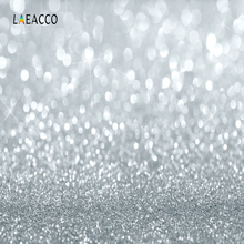 Laeacco Glitters Light Bokeh Baby Newborn Party Photography Backgrounds Customized Photographic Backdrops For Photo Studio стоимость