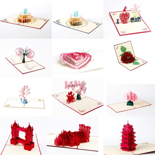 3d pop up cards paper craft greeting cards invitations valentine 3d pop up cards paper craft greeting cards invitations valentine lover love romantic birthday wedding anniversary m4hsunfo