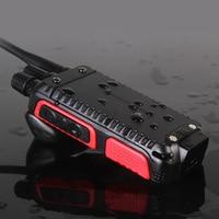 מכשיר הקשר ניו Baofeng BFK5 מקצועי מכשיר הקשר 5W כף יד שני הדרך רדיו UHF 400-470MHz BFK5 Ham PTT FM משדר 2pcs (3)