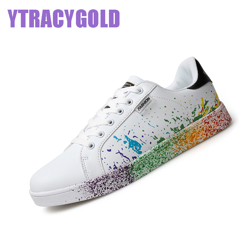 YtracyGlod Fashion Flat Shoes Women Stan Casual Shoes Tenis Masculino Adulto Unisex Casual Shoes Female Platform Ladies Shoes