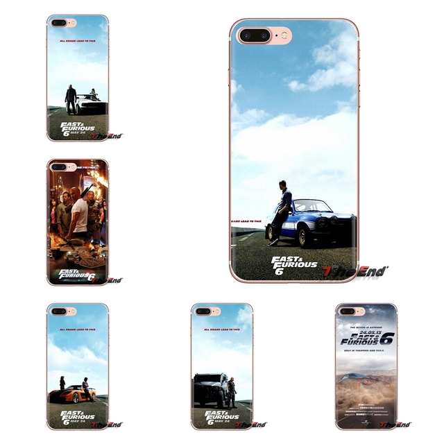 fast and furious 6 moive necklace TPU Transparent Bag Case For iPod Touch Apple iPhone 4 4S 5 5S SE 5C 6 6S 7 8 X XR XS Plus MAX