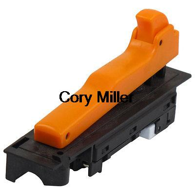 AC 250V 12A Orange Button Lock On Trigger Switch for Makita 180 Angle Grinder