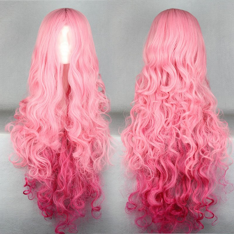 Swell 100Cm Good Quality Long Pink Wig Cosplay Uta No Prince Sama Natural Hairstyles Runnerswayorg