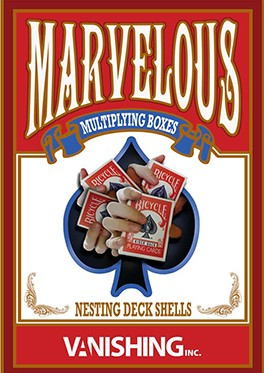Marvelous Multiplying Card Boxes By Matthew Wright Magic Tricks
