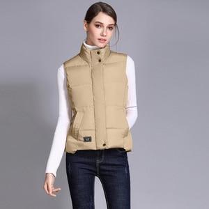 Image 5 - Seenimoe Women Waistcoat Winter Cotton Vest Coat Womens Solid Color S 3XL Female Top Quality Vest Sleeveless Jacket