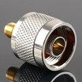 1 pc Adaptador N Plugue Macho Níquel Chapeamento de Ouro Chapeamento Para SMA Fêmea Jack RF Conector Em Linha Reta VC720 P0.5