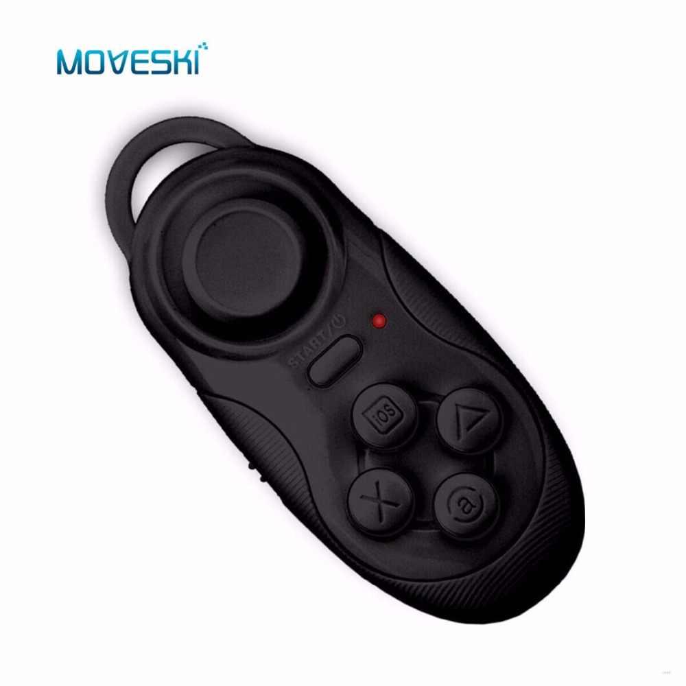 Moveski 001 Bluetooth Periferiche E Controller Per Videogiochi Controller di Gioco Joystick Selfie Scatto Remoto Mouse Senza Fili Per iOS Smartphone Android TV Box