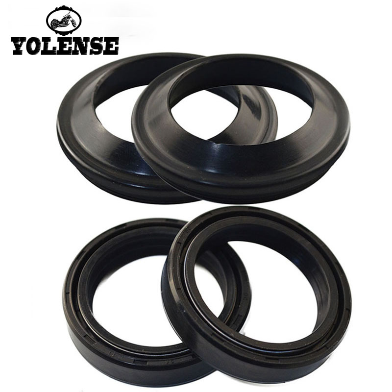 For Yamaha YZ 490 WR 500Z XT 660R 660X XT660X Moto Accessories Front Fork Shock Absorber Oil Seals 43*55*9.5/10.5 43X55X9.5/10.5 image