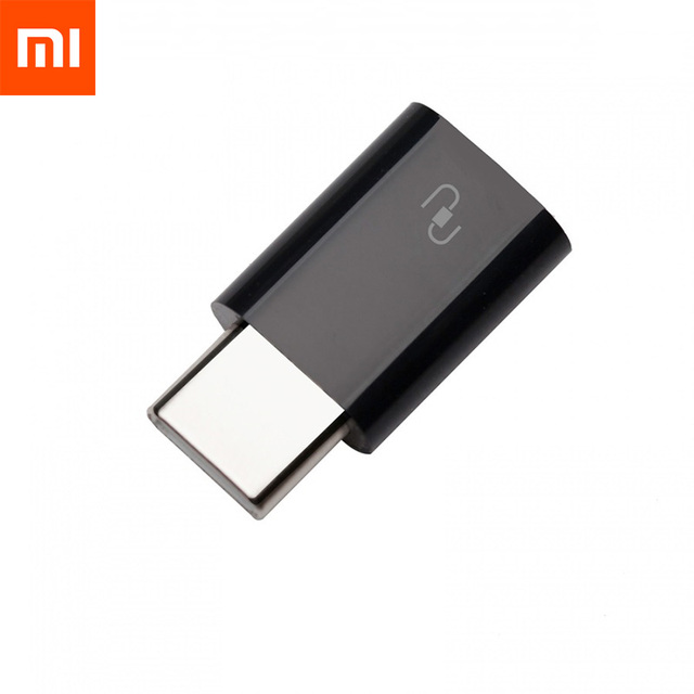 Original Xiaomi Type C Adapter Micro USB to Type C Type C Adapter Sync Charge Micro To TypeC Connector For Xiaomi 4S 4c 5 Type C