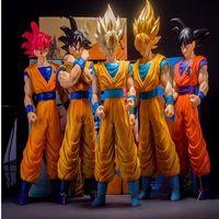 Giappone Animazione Dragon Ball Z goku PVC action figure giocattoli di Grandi Dimensioni Super Saiyan goku modello doll classici giocattoli per bambini regali