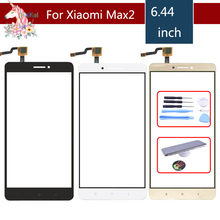 TouchScreen Original Para Xiao mi mi mi Max 2 Max2 Max2 Max2 Touch Screen Touch Panel Digitador Sensor de Vidro Da Frente substituição(China)