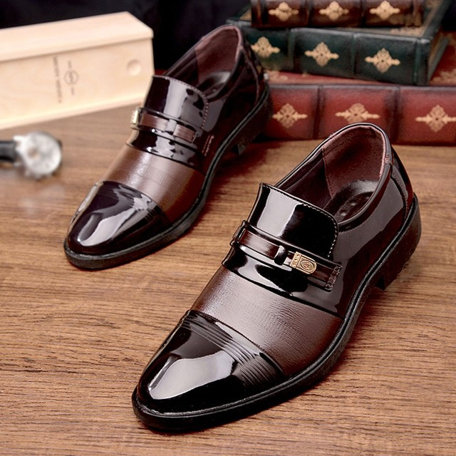 Formal Leather Shoes - Plush Plus 4