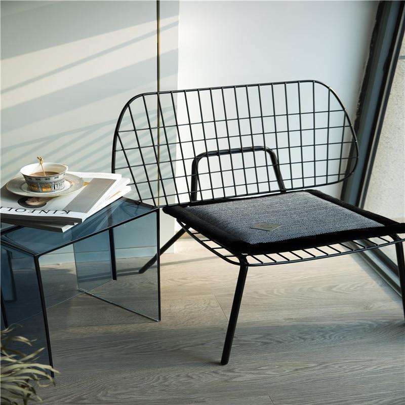 Coussins pour chaise de cuisine couleur unie siège 1 pièces coussin carré coussin de sol lavable en Machine rayures verticales pied de poule laine