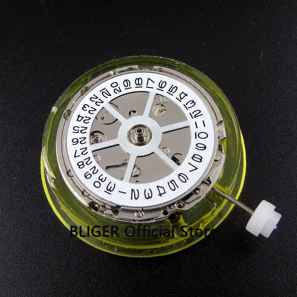 лучшая цена Mechanical Mingzhu 2813 Automatic movement date display watch movement BM13A