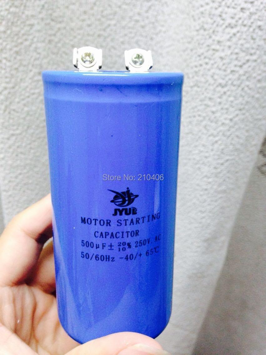 ФОТО Start Capacitor 500uf 250V CD60 Capacitor