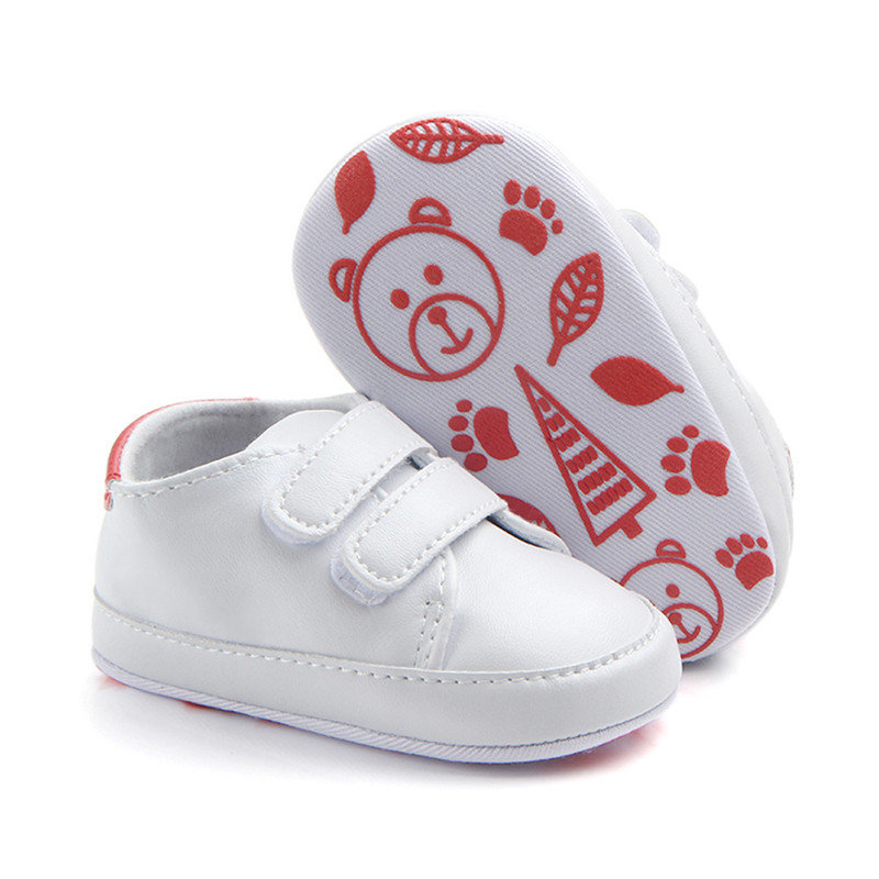 Newborns Solid Color Sneaker Infant Baby Boys Girls Summer Fashion Soft Bottom Anti-Slip Crib Shoes Toddler Shoes 3-12 Month A20