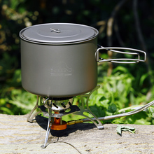 TOAKS 1600ml  Titanium Cookware Pot Camping Cooking Picnic Pot Ultralight  Eco-friendly Titanium toaks 1600ml cookware set ultralight titanium pot frying pan outdoor camping titanium bowl titanium cup picnic