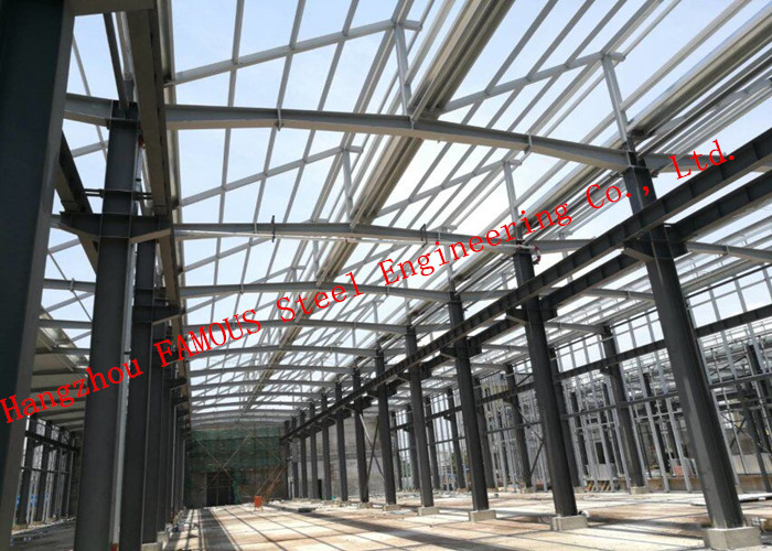 Prefab Steel Structure Multiple Floor Commercial Steel Buildings EPC Project