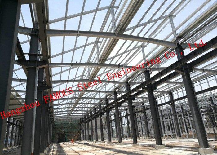 Prefab Steel Structure Multiple Floor Commercial Steel Buildings EPC Project