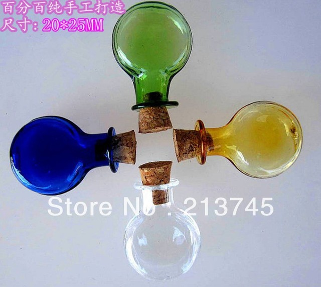 Vial pendant creative gifts mobile phone decorations oblateness vial pendant creative gifts mobile phone decorations oblateness wishing bottle diy supplies glass bottle 4 color aloadofball