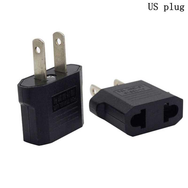AU ue wtyczką amerykańską Adapter AC/DC Adapter Adapter zasilania elektrycznego ładowarka gniazda Adapter wysokiej jakości konwerter zasilania