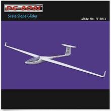 DG-808S планер 4000 мм ARF без электронной части из стекловолокна и деревянных крыльев RC парусник
