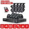 2 TB HDD 1.0MP HD 2000TVL bezpieczeństwa bullet kamery system CCTV zestaw 16 kanał AHD Full 720 P nadzoru wideo 1080 P DVR NVR system