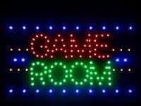 Nled047-r 게임 룸 LED 네온 빛 기호 16