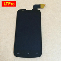 NEW Black LCD Display Touch Screen Digitizer Assembly For DNS S4502 4502 S4502M Phone Parts
