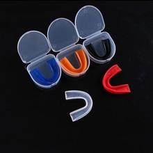 Открытый Взрослый зуб Защитная крышка для Бокс ММА Футбол Баскетбол Каратэ Муай Тай Предметы безопасности защиты