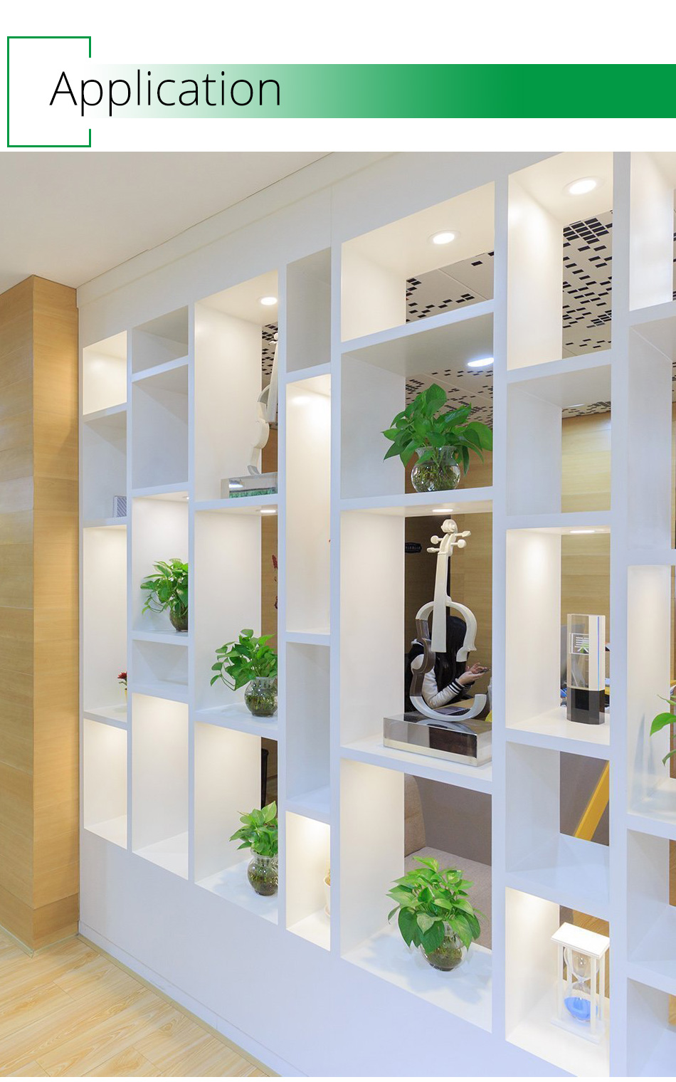 LED Under Cabinet Lights Motion Sensor Round Kitchen Cupboard Lighting Exhibition Bookshelf Furniture Night Light Counter Lamps11