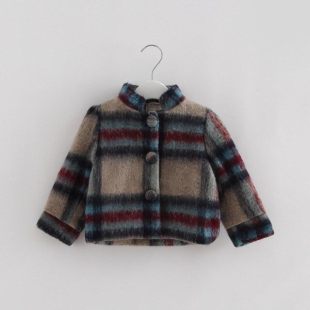 Детская одежда new baby девушки мода верхняя одежда принцесса сетки дети зиму Англия стиль пальто детские толстые теплые