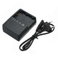Mayitr 1pc High Quality LC-E6E Battery Charger With 60cm Power Cord For Canon LP-E6 5D Mark II III 7D 5D2 5D3 7D 60D 6D