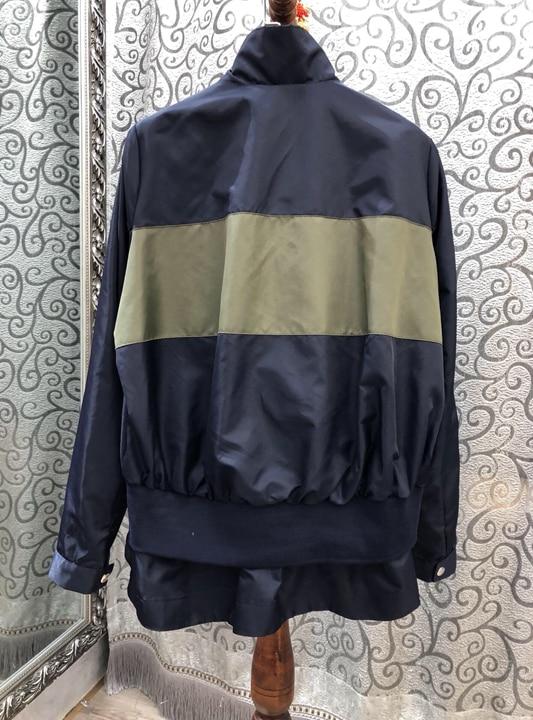 Couleur 2019 Vêtements Femmes Joker Haut Caractère Nouveau Mode De Manteau Couture Correspondant 226 Gamme Court RSqwp1AxSz