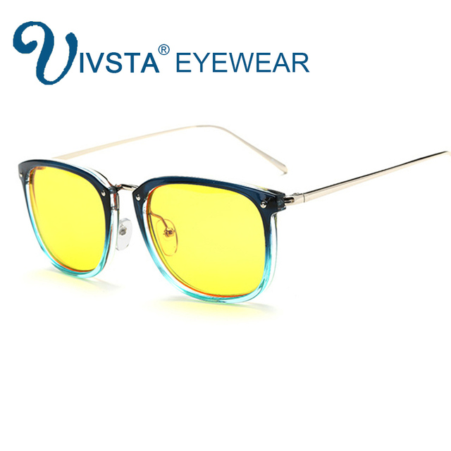 13d03f03542 IVSTA Anti Radiation Glasses Computer Eyewear Anti Blue Rays UV400 HD Lenses  2017 Computer Glasses Protection for Designer 8111