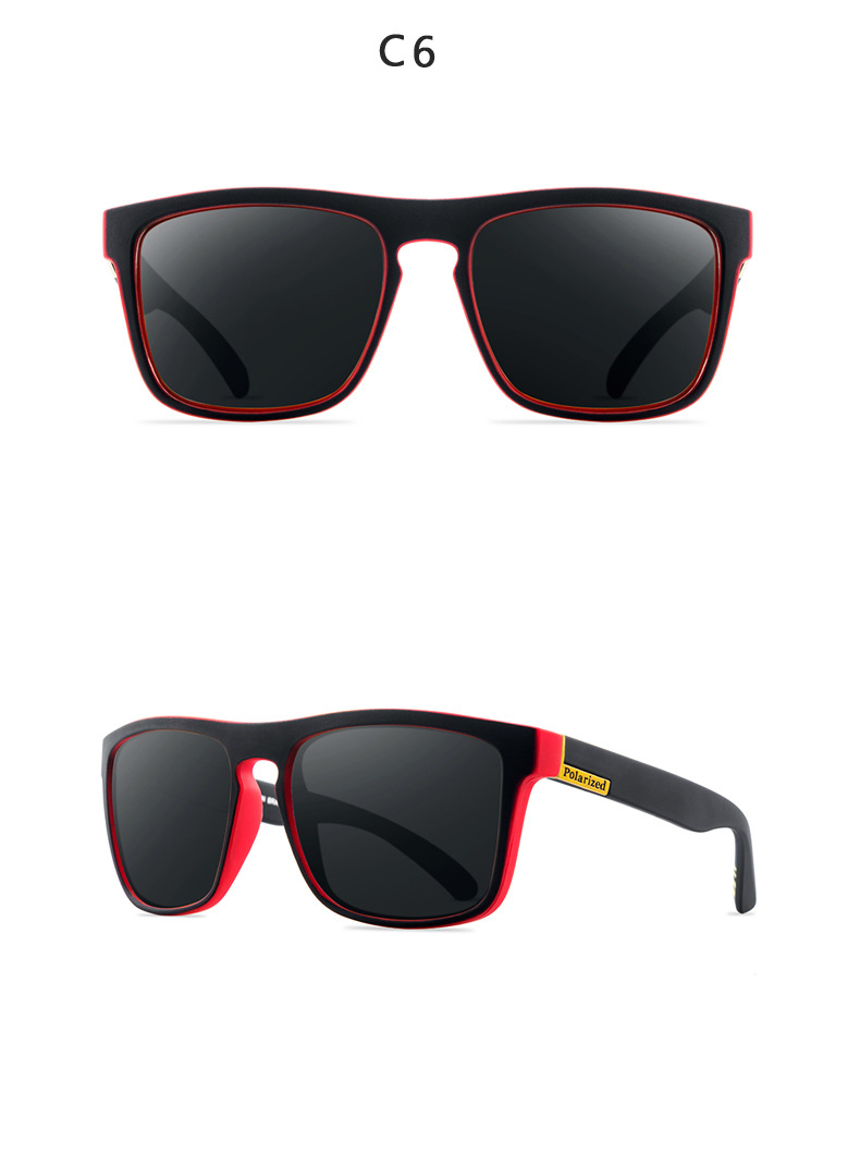 ASUOP 2019 new square polarized ladies sunglasses UV400 fashion men's glasses classic brand designer sports driving sunglasses (13)