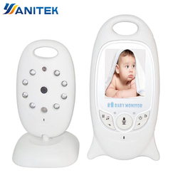 Monitor do bebê sem fio 2 polegada bebe baba eletrônico babá rádio câmera de vídeo visão noturna monitoramento temperatura vb601